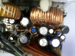 Ремонт блока питания ATX ISO-450PP замена конденсаторов
