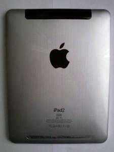 Китайский планшет iPad2 задняя сторона