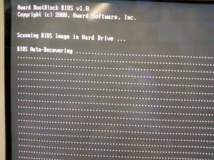 Неисправность биоса материнской платы gigabyte GA-8I848P rev. 1.0