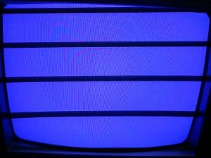 Телевизор Elenberg 1403 с заработавшей петлей размагничивания
