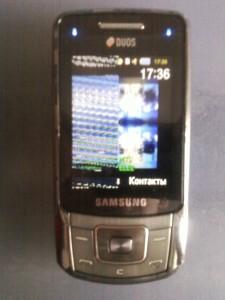 Неисправный шлейф на сотовом телефоне Samsung B5702