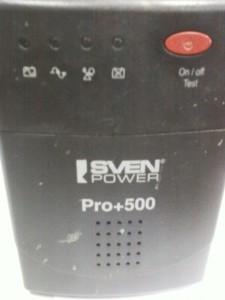 UPS Sven Power Pro+ 500