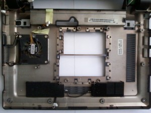Корпус ноутбука Asus Eee PC 900 с вентилятором