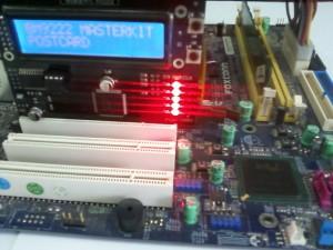 Неиспраность питания моста на материнской плате Foxconn PC 865M07-G-6LS