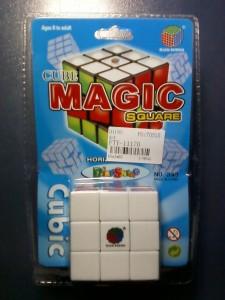 Новый кубик-рубик в упаковке