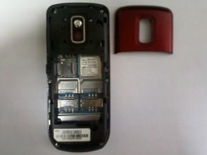 Сотовый телефон Samsung GT-C3212 без задней верхней крышки