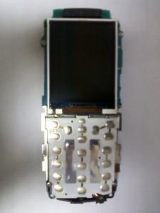 Основная плата сотового телефона Samsung GT-C3212 с дисплеем