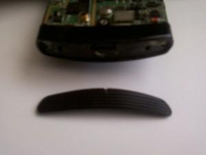Заглушка винтов снизу сотового телефона Samsung U600