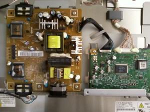 Платы инвертора (БП) и управления LCD монитора Samsung SyncMaster 710N