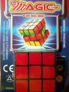 Кубик-рубик из гипермаркета О`КЕЙ за 59 рублей