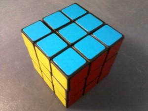Цветные грани кубика-рубика из гипермаркета О`КЕЙ