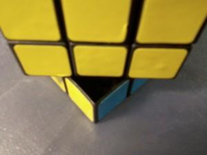 Пустой внутри кубик-рубик из гипермаркета О`КЕЙ