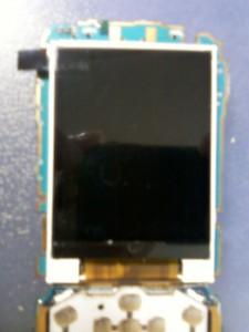 Новый установленный дисплей сотового телефона LG GX200