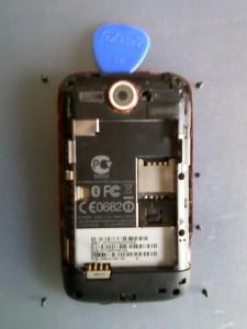 6 винтов сотового телефона HTC WildFire A3333