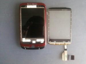 Новый еще не приклееный тачскрин сотового телефона HTC WildFire A3333