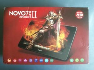 Упаковка планшета Ainol NOVO7 Advanced II