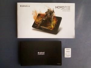 Макулатура от планшета Ainol NOVO7 Advanced II