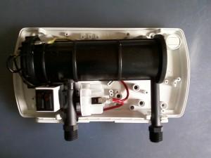 Вид изнутри водонагревателя ATMOR BASIC 5000