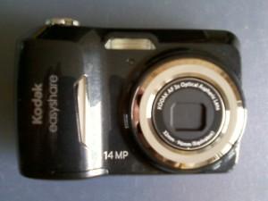 Вид со стороны объектива фотоаппарата Kodak EasyShare C1530