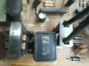 Впаиваем новый позистор в телевизор DAEWOO DMQ-2057M