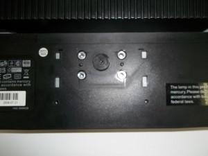 Открученная подставка монитора