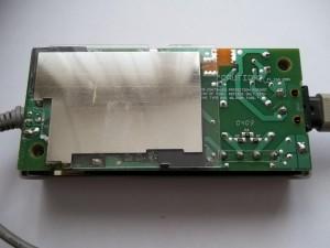 Блок питания телевизора SHARP AQUOS LC-13S1E в разобранном виде