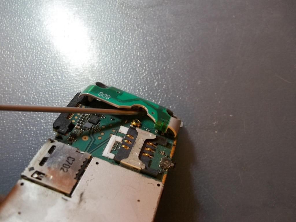 Ремонт антенны в телефоне