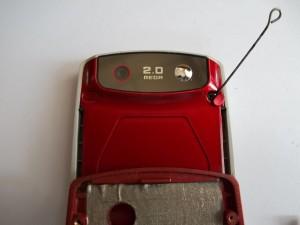 Заглушки винтов верхней части слайдера Samsung SGH-J610