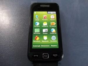 Сотовый телефон Samsung S5230W с целым тачскрином