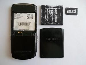 Сотовый телефон Samsung SGH-U600 без аккумулятора и сим карты