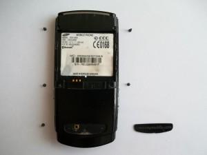 Винты сотового телефона Samsung SGH-U600