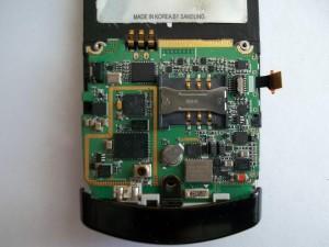 Шлейф клавиатуры сотового телефона Samsung SGH-U600