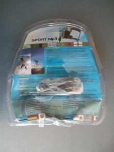 Другая сторона упаковки sport mp3 плеера с FM радио