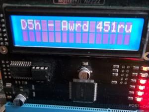 Пост код D5 на материнской плате ASUS M4A785TD-M EVO