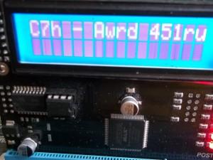 Пост код C7 на материнской плате ASUS M4A785TD-M EVO
