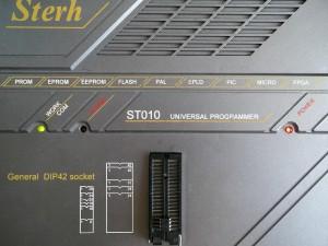 Прошиваем микросхему биоса cFeon EN25F80 программатором