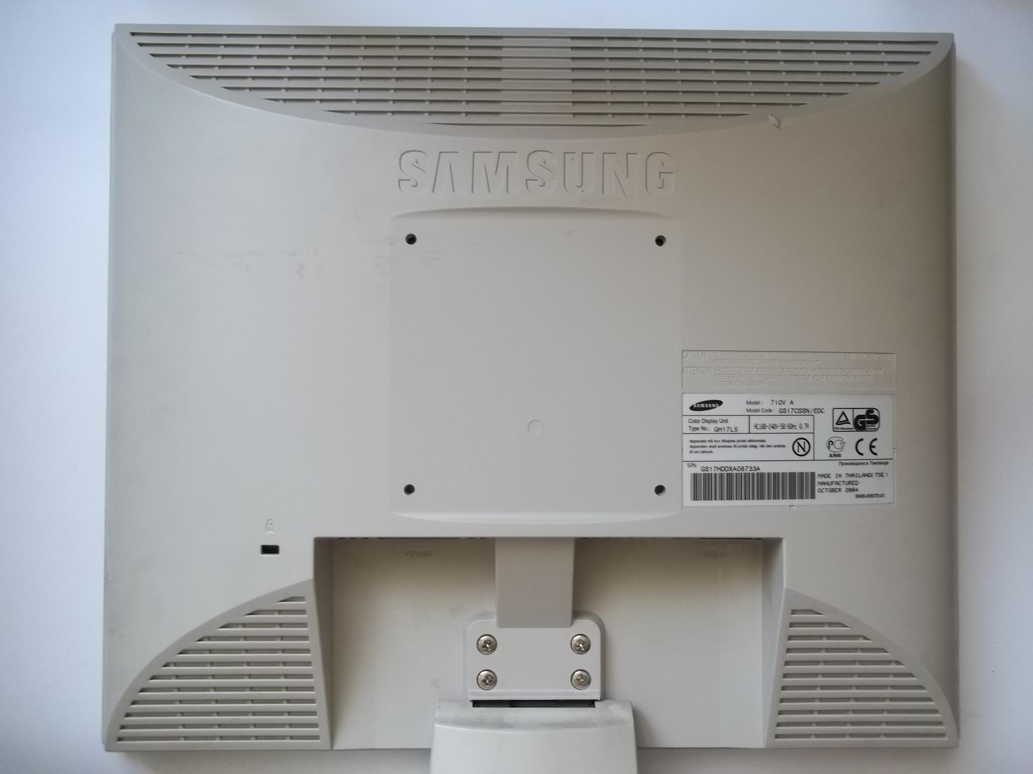 схема блока питания монитора syncmaster 710n
