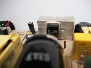 Сгоревший шим контроллер монитора Samsung SyncMaster 710V
