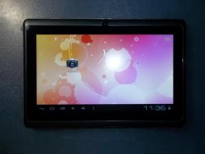 Первое включение планшета allwinner A13 tablet pc