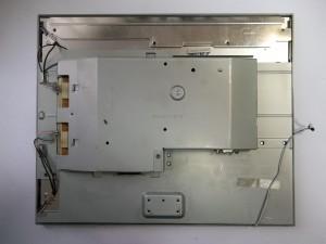 Монитор Samsung SyncMaster 740N с отключенными разъемами ламп, кнопок и матрицы