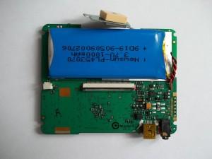 Фотография платы GPS навигатора JJ-Connect AUTONAVIGATOR 330 с одной стороны