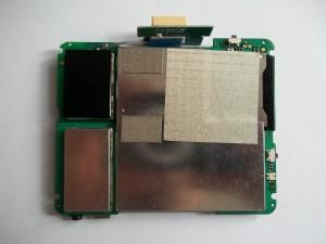 Фотография платы GPS навигатора JJ-Connect AUTONAVIGATOR 330 с другой стороны