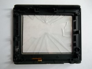 Разбитый тачскрин GPS навигатора JJ-Connect AUTONAVIGATOR 330
