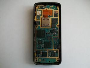 Шлейф вспышки сотового телефона Nokia N82