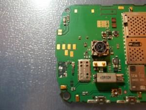 Сотовый телефон Nokia E5-00 отмытый после попадания влаги