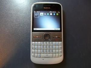 Сотовый телефон Nokia E5-00. Меню