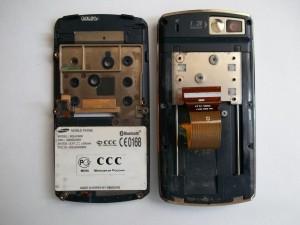 Samsung SGH-D800. Разборка