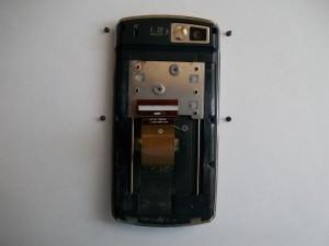 4 винта дисплейной части сотового телефона Samsung SGH-D800