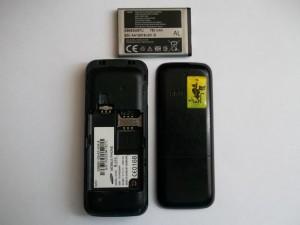 Сотовый телефон Samsung E1070 в полуразобранном виде