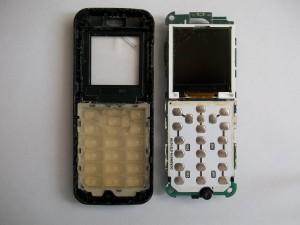Плата сотового телефона Samsung E1070 с разбитым дисплеем